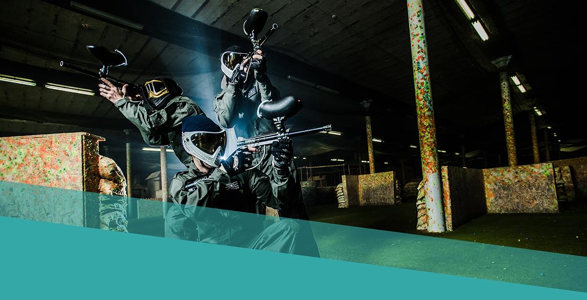 Groepsactiviteiten Paintball Gent Oost-Vlaanderen mobile wat is